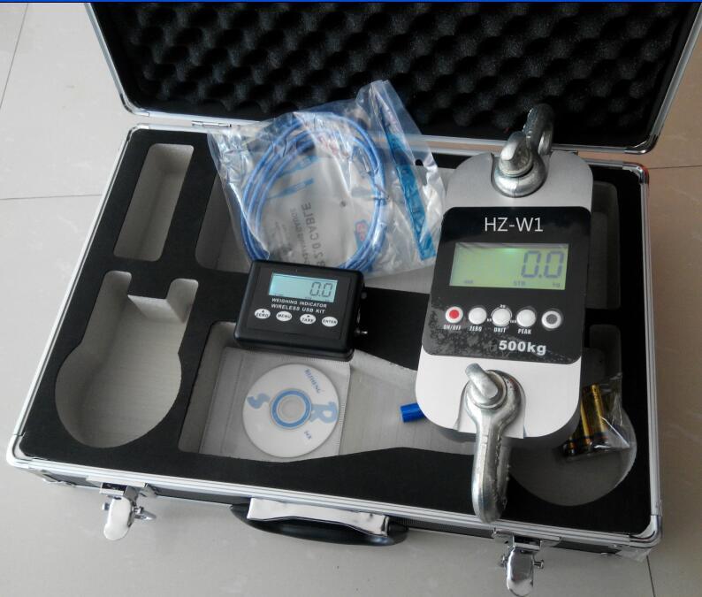 便携式160kn拉力计 配手提机箱,方便户外使用